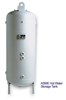 Hot Water Storage Tanks, 50 to 2,250 Gallons And Calorifiers